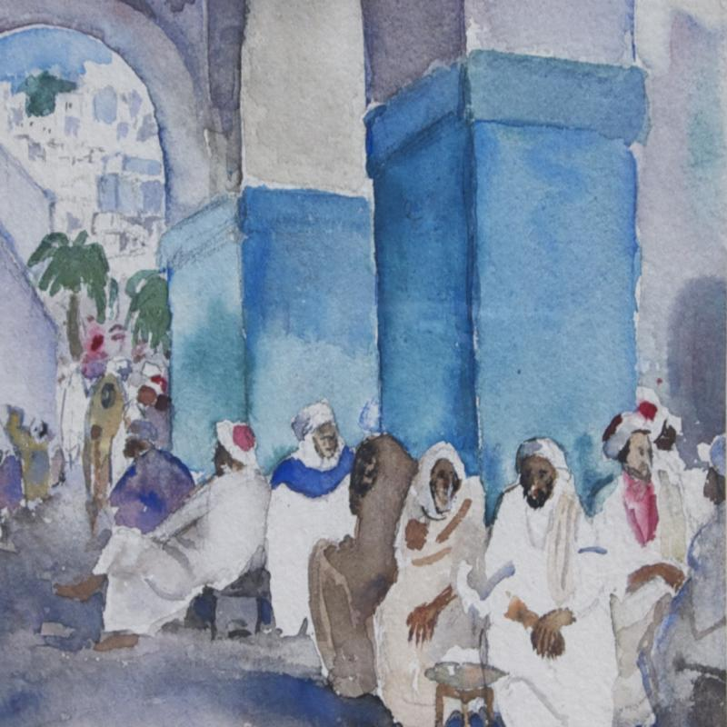 Martha Walter, Gathering Place, North Africa
