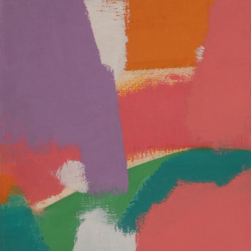 Carl Holty, Color Theory #650, 1963