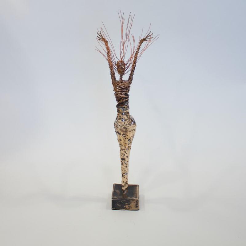 Rachel Ducker, Bronze Arms Up, 2019