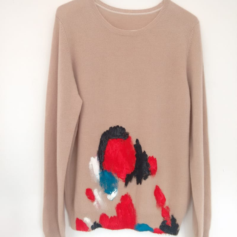 Susie Green, Painting Jumper (beige), 2016