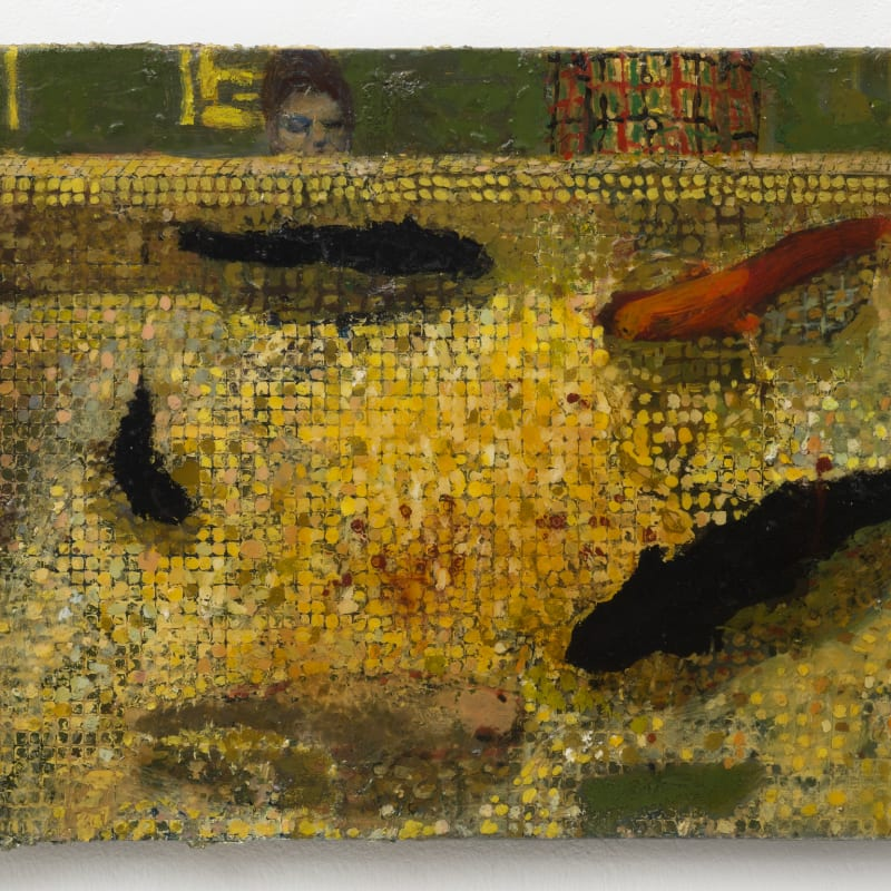 Andrew Cranston, Looking at Fish (on the Eve of The Gulf War), 2016-17