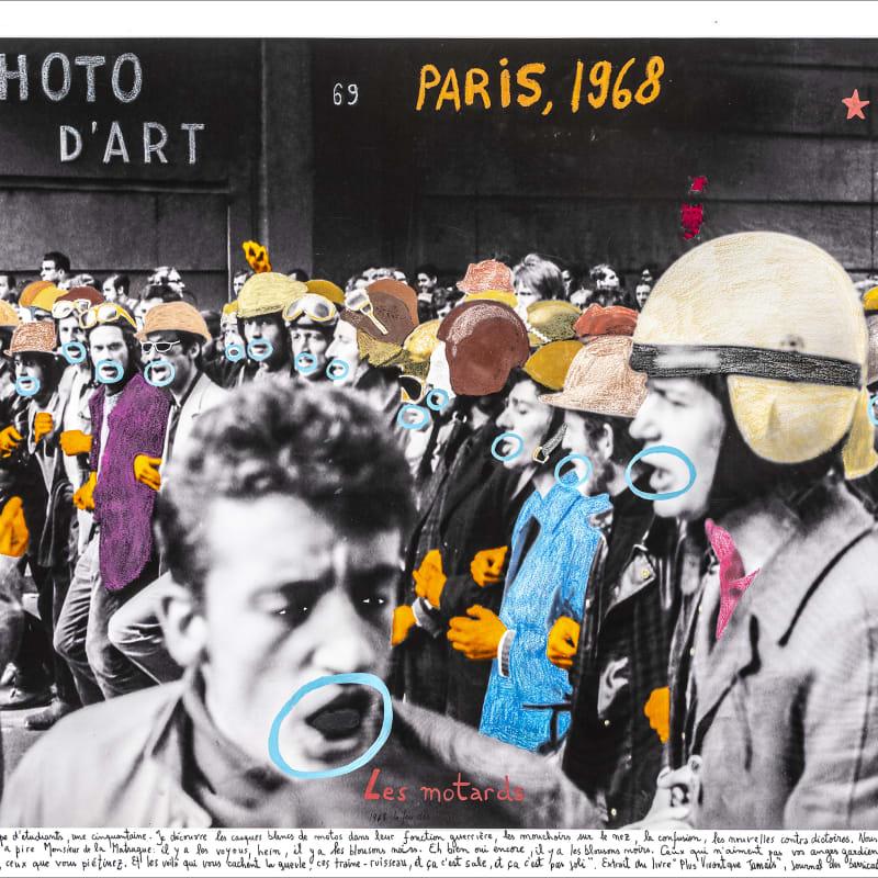 Marcelo Brodsky, PARIS 1968, 2017
