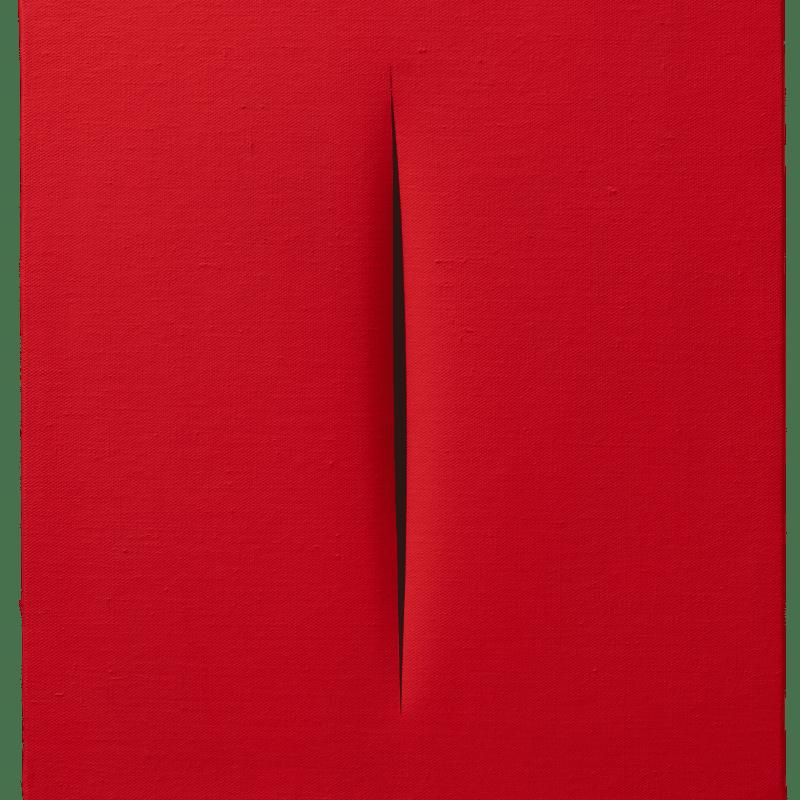 Lucio Fontana, Concetto Spaziale, [Attesa], 1967
