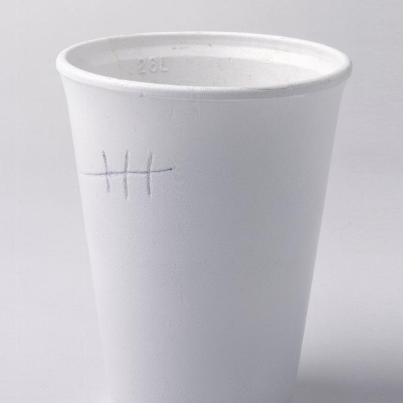 Gavin Turk, Milk Three Sugars, 2003