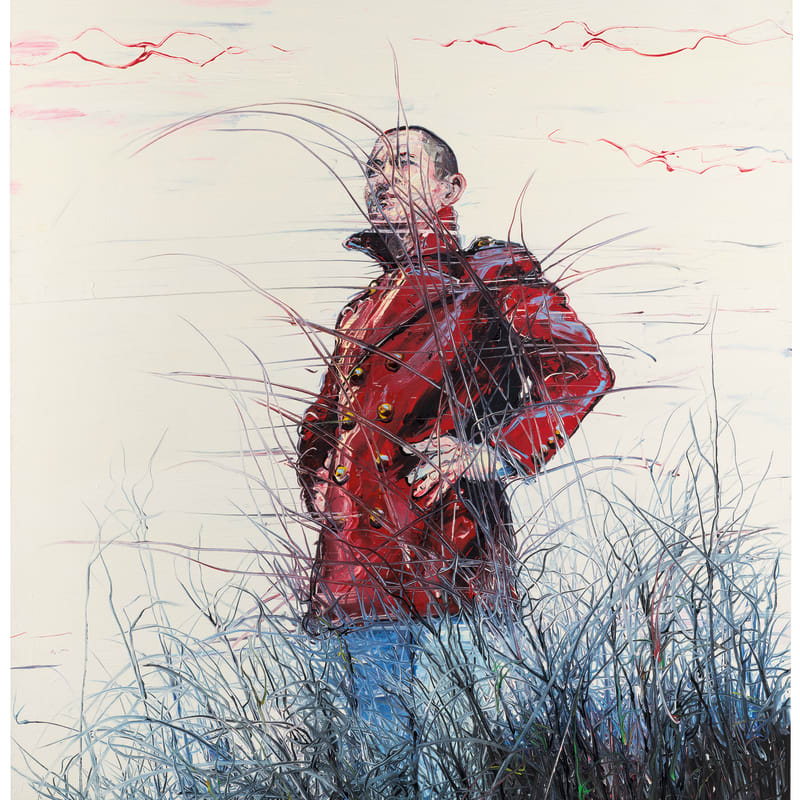 Zeng Fanzhi, Self Portrait, 2006