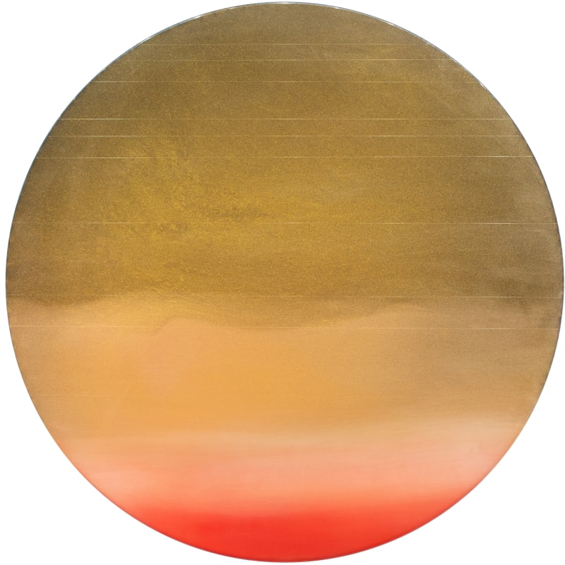 Miya Ando, Vermillion Moon 5.19.3.1, 2019