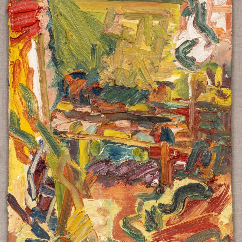 Frank Auerbach, In the Studio, 2002