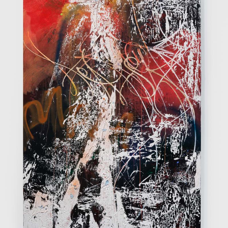 José Parlá, Imprint of Body Movements, 2020