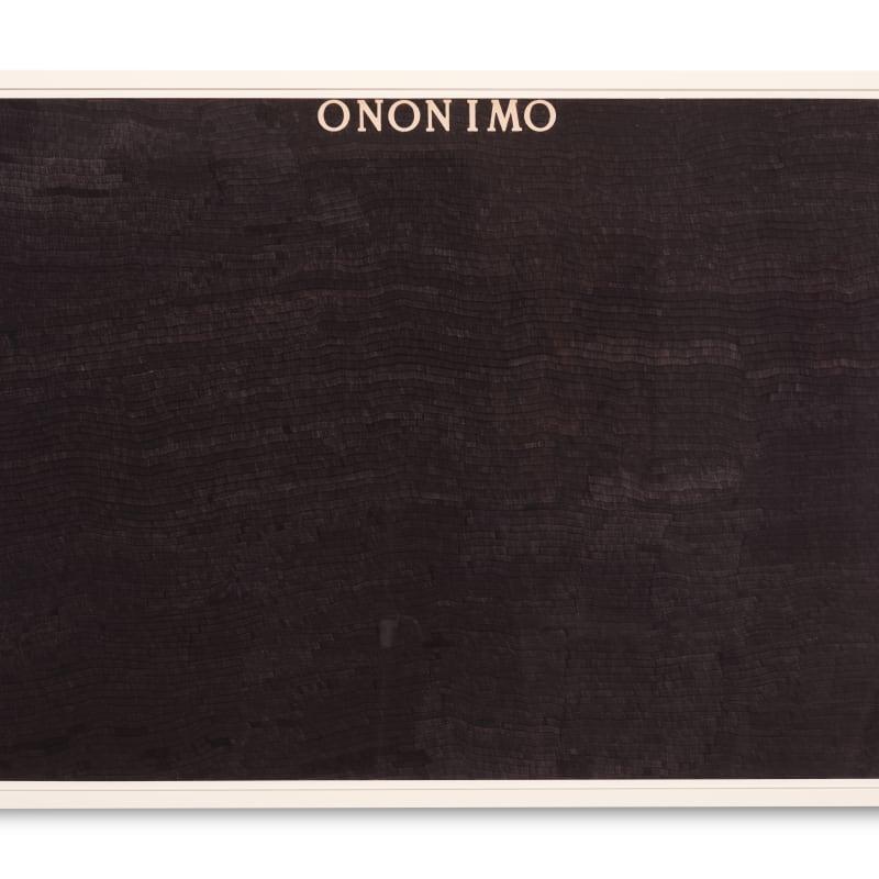 Alighiero Boetti, Ononimo, 1975