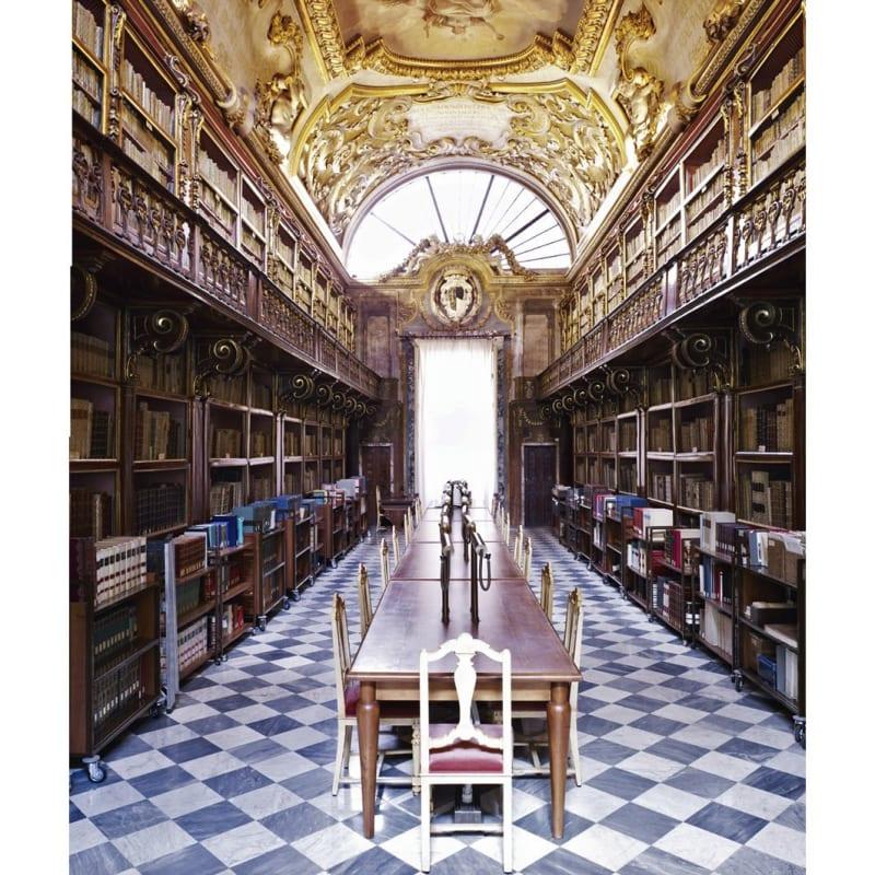 Candida Höfer, Biblioteca Riccardiana Firenze I 2008