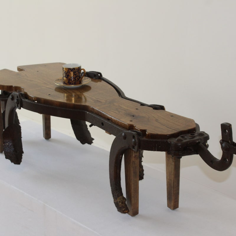 Harold Sweet, Agricultural Salvage Curio Table