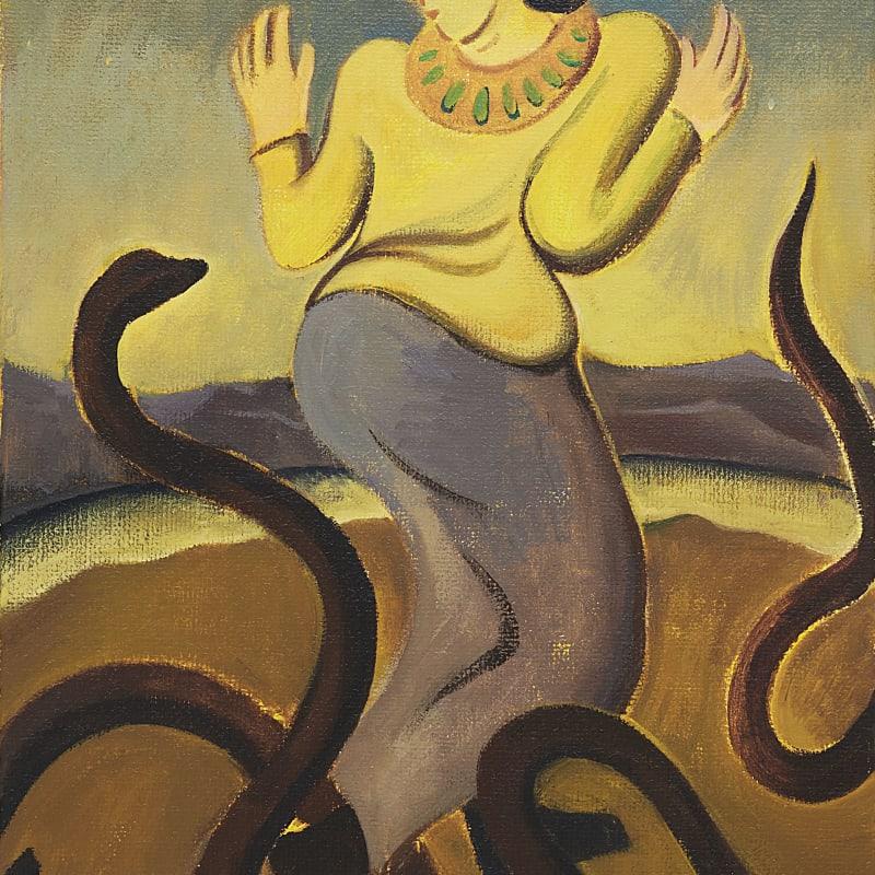 Cai Zebin 蔡泽滨, The Snake Charmer 耍蛇人, 2019