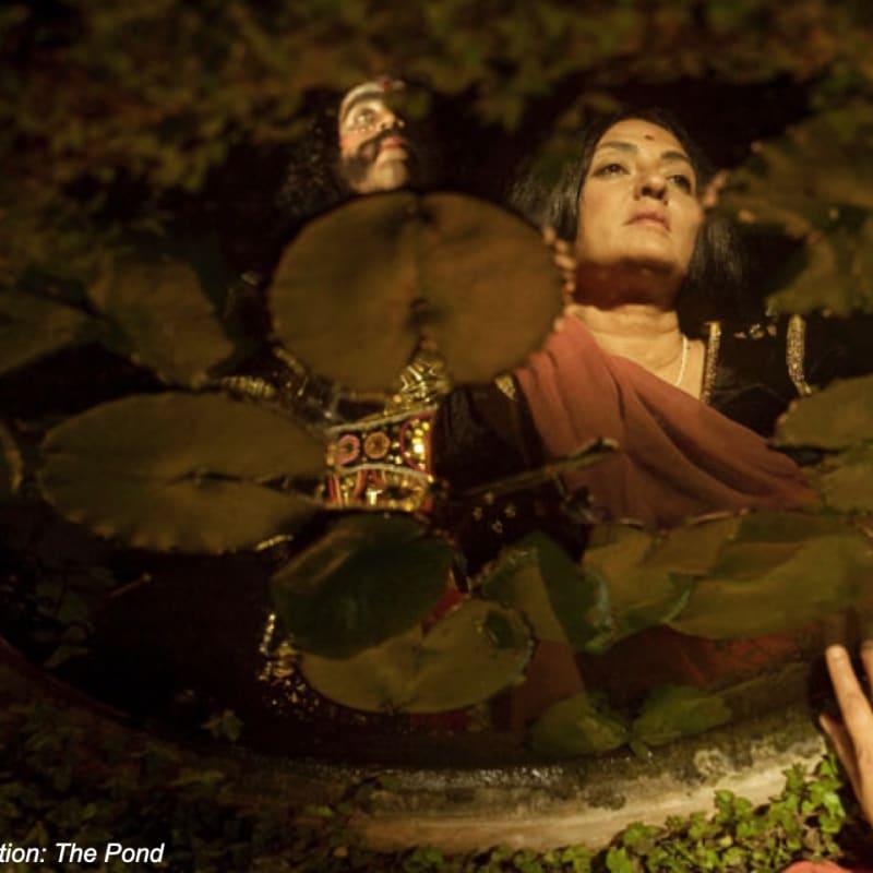Pushpamala N, Apaharana/Abduction: The Pond, 2012