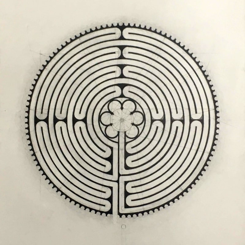 Desmond Lazaro, The Chartres Labyrinth, 2020
