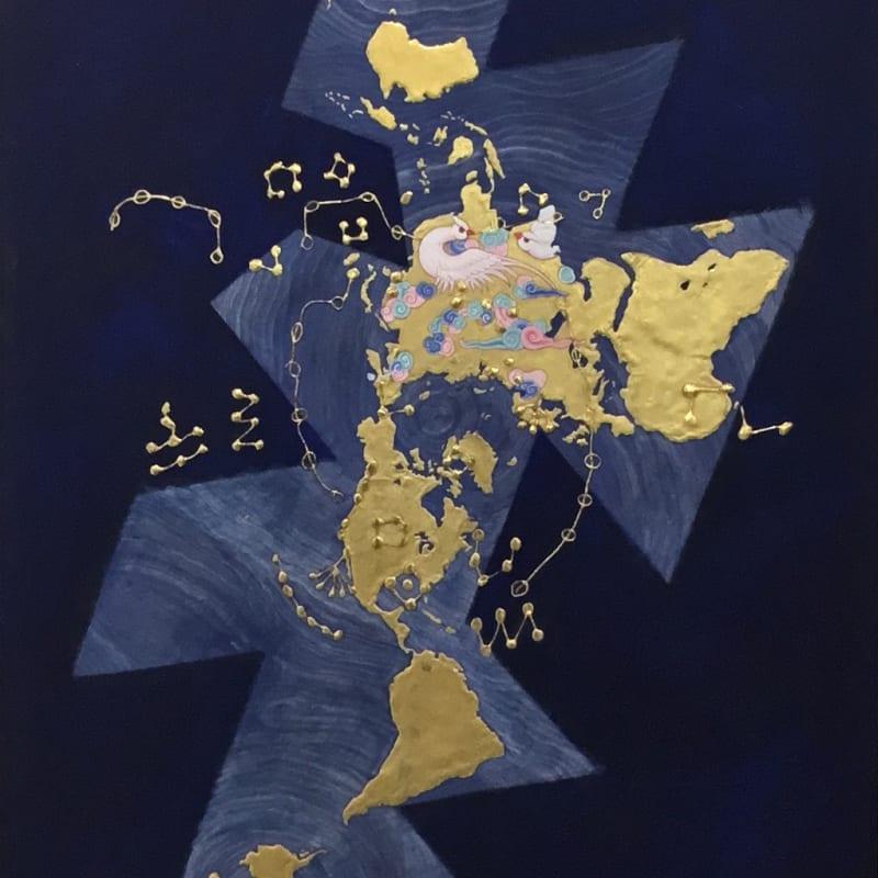 Desmond Lazaro, The Dunhuang Star Atlas, DSA I, 2019