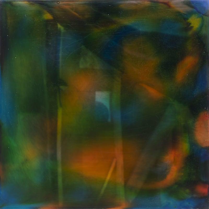Yoshitaka Yazu, Passage_Mirror_Green Pool, 2018