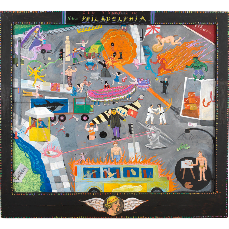 Spyros Aggelopoulos, Old trouble in New Philadelphia, 2019