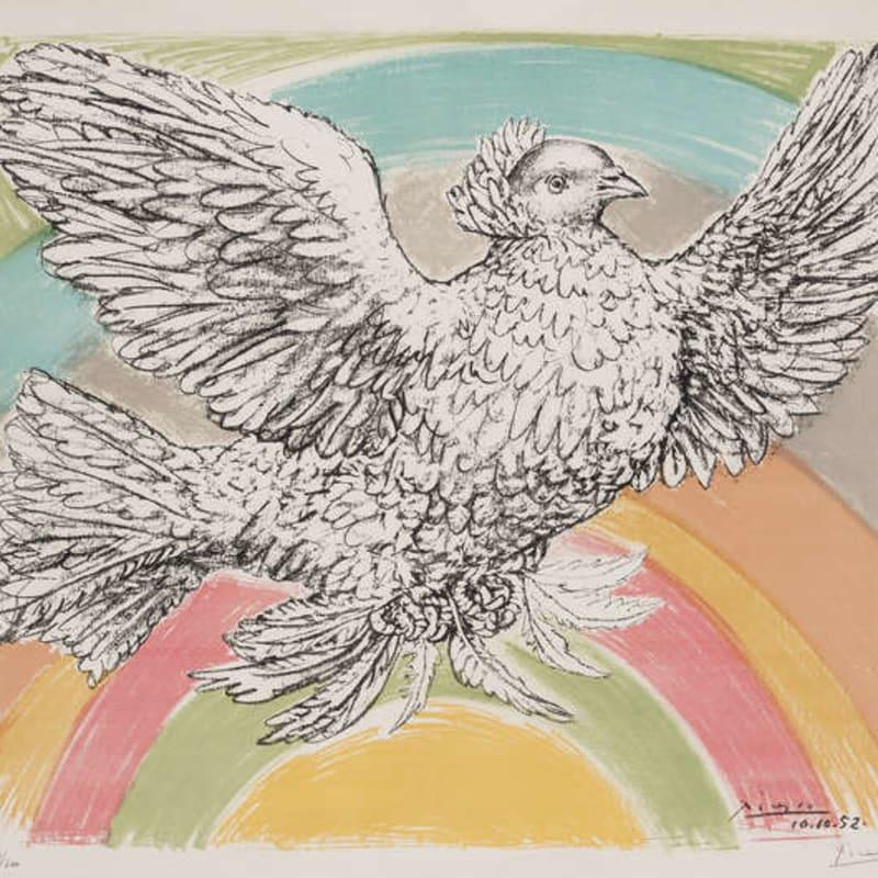 Pablo Picasso, Colombe (à l'Arc de Ciel), 1952