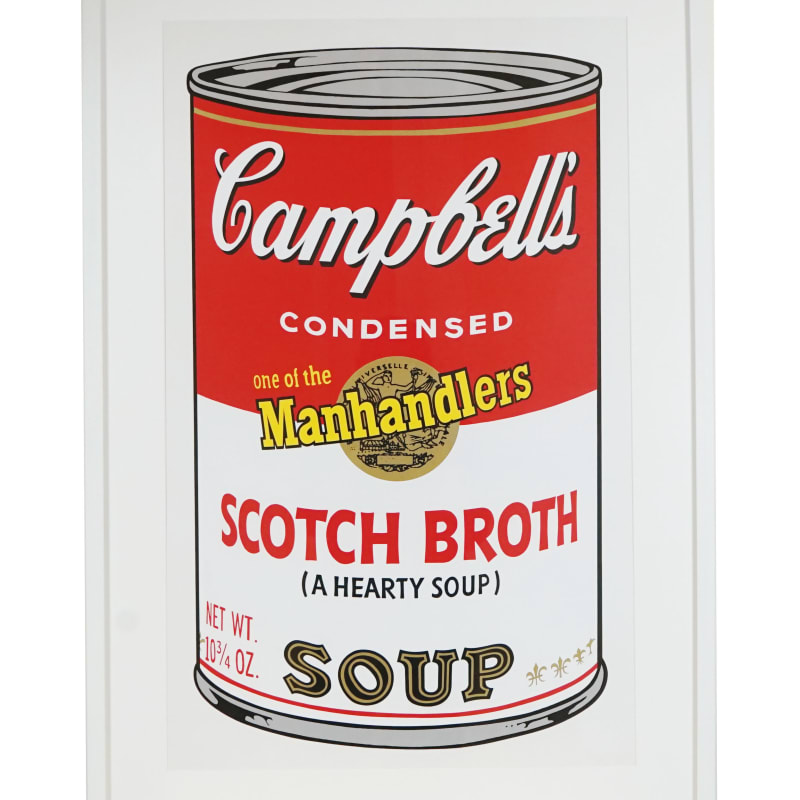 Andy Warhol, Scotch Broth Soup, from Campbell's Soup II, 1969