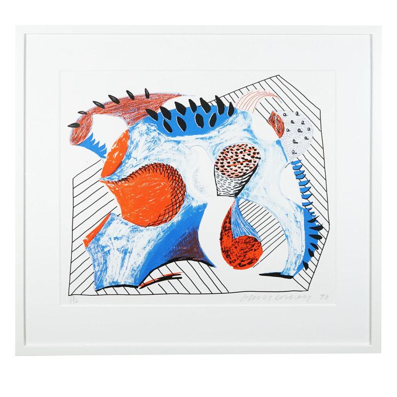 David Hockney, For Joel Wachs, 1993