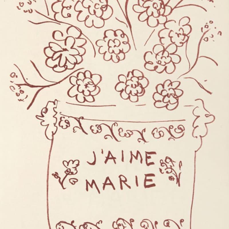 Henri Matisse, Untitled 3835 (J'aime Marie), 1948