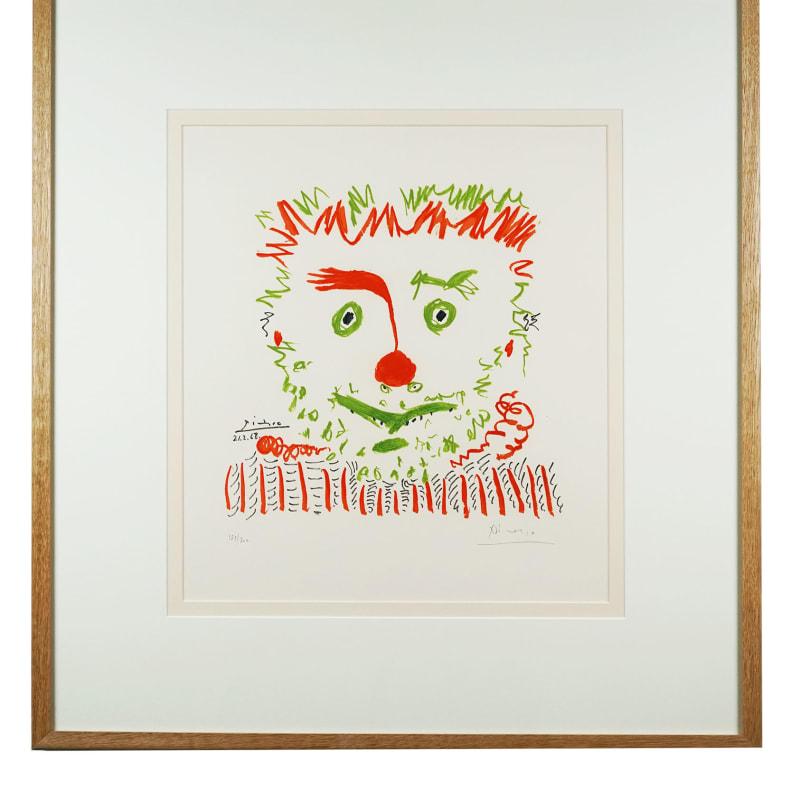 Pablo Picasso, Le Clown, 1968