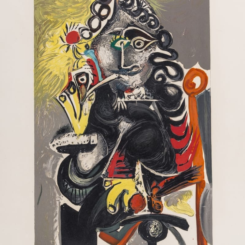 Pablo Picasso, Le Cavalier (Mousquetaire a la Pipe), 1968