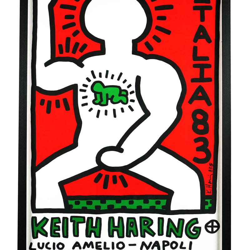 Keith Haring, Italia 83, Lucio Amelio Gallery, Napoli , 1983