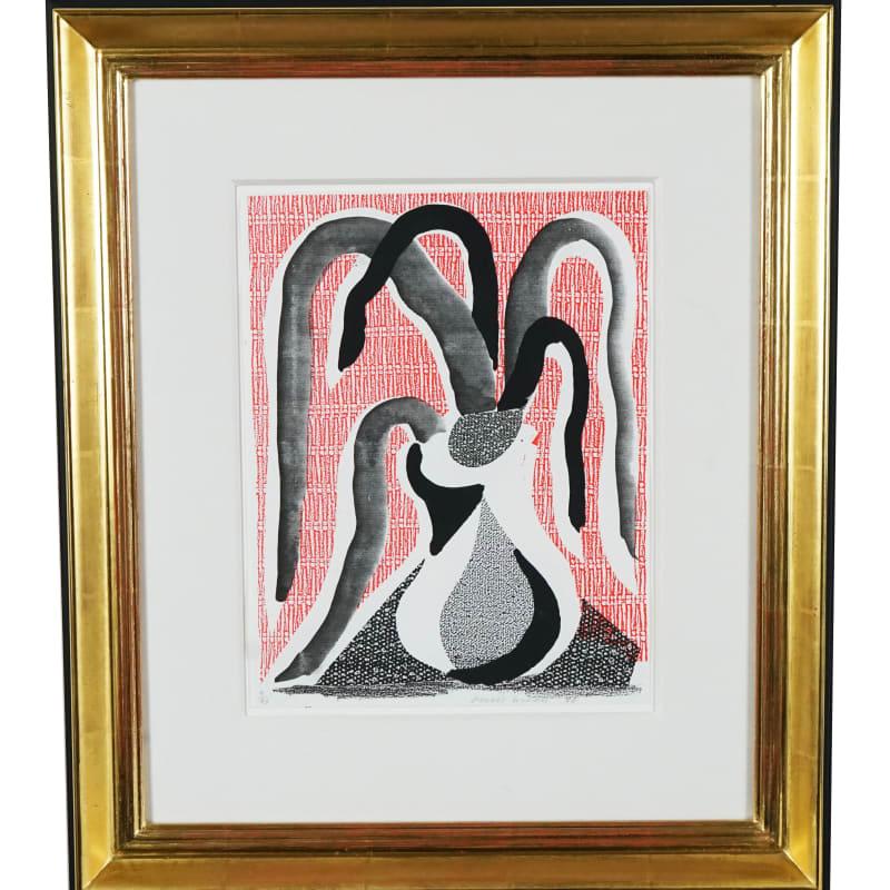 David Hockney, Drooping Plant, 1986