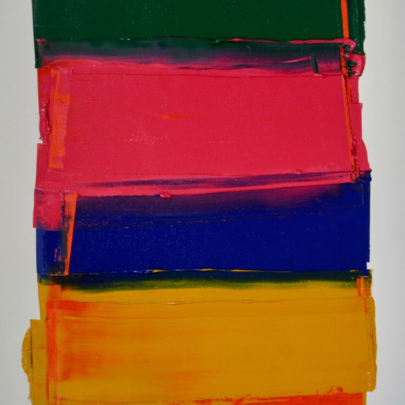 Marcus Hodge, Stacked Colours, Jaipur, 2019