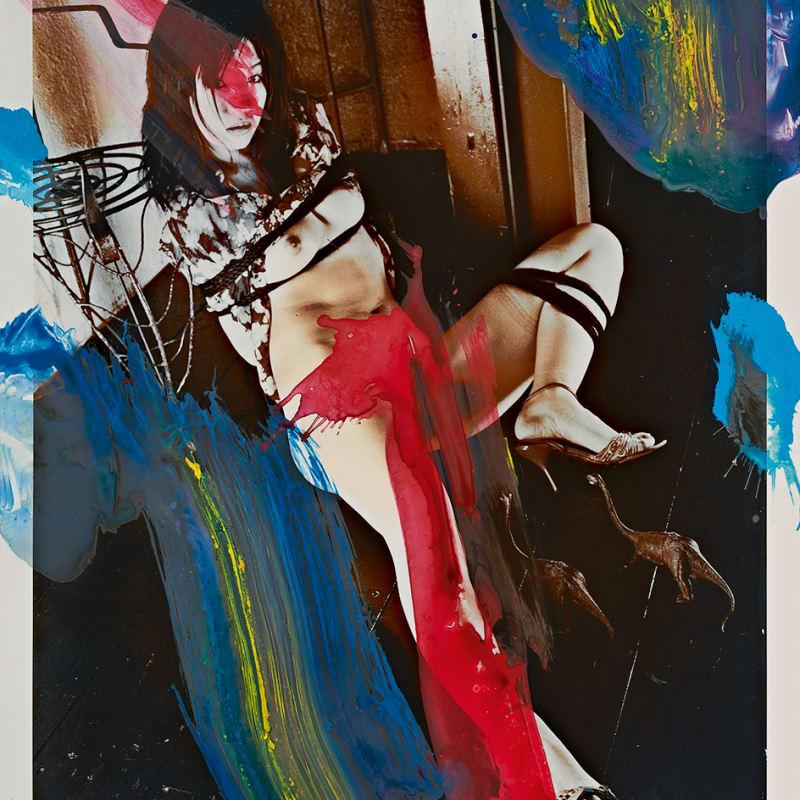 Nobuyoshi Araki, Untitled from PaInting, 2010