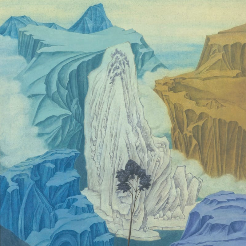 Xu Lei 徐累, The Message Tree 消息树, 2019