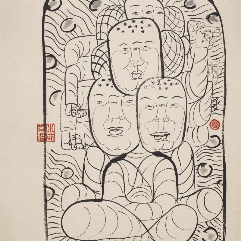Li Jin 李津, Myriad Monks 众僧, 1993