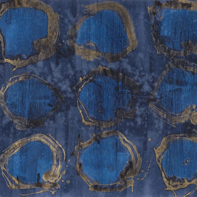 Wei Ligang 魏立刚, Blue Peacock 孔雀·蓝, 2012