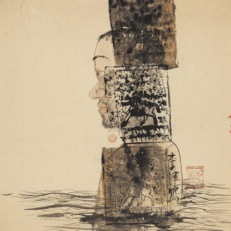 Li Jin 李津, Lhasa River 拉萨河, 1993