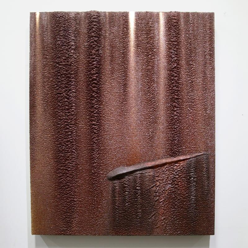 Kim Jongku 金钟九, Steel Powder Painting No. 5 铁墨画之五, 2017