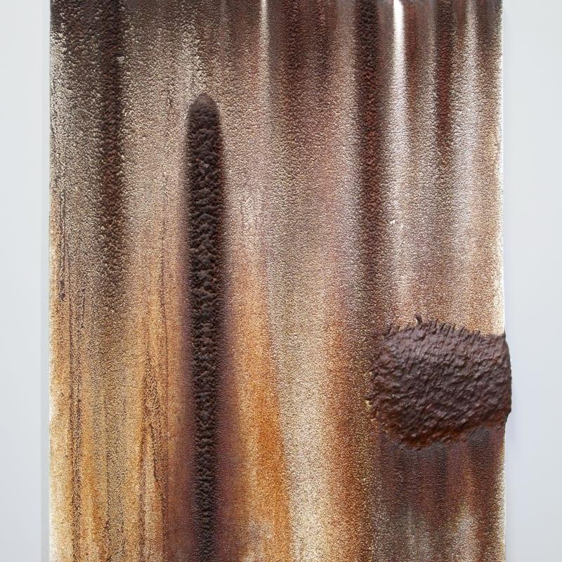 Kim Jongku 金钟九, Steel Powder Painting No. 7 铁墨画之七, 2017