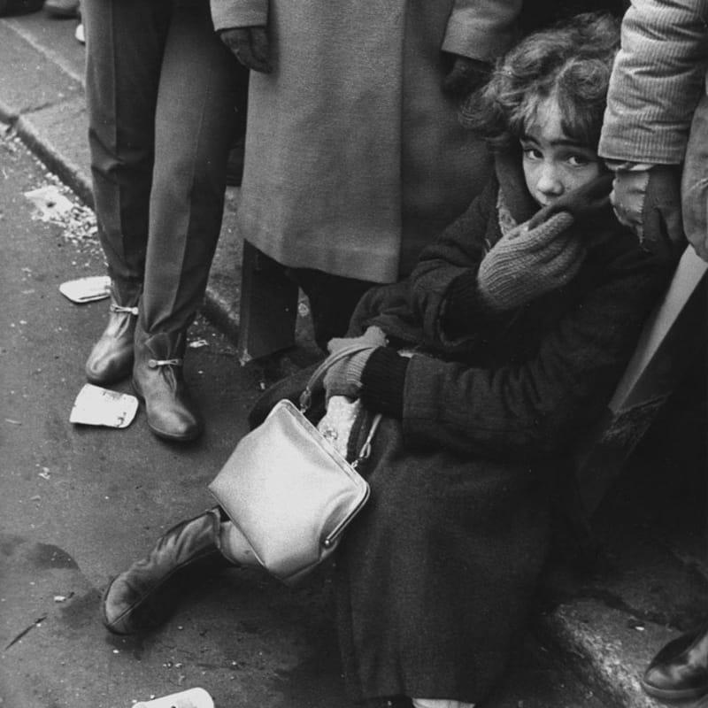 Sabine Weiss New York Tirage gélatino-argentique d'époque réalisé par l'artiste 21 x 30 cm Dim. papier: 21 x 30 cm