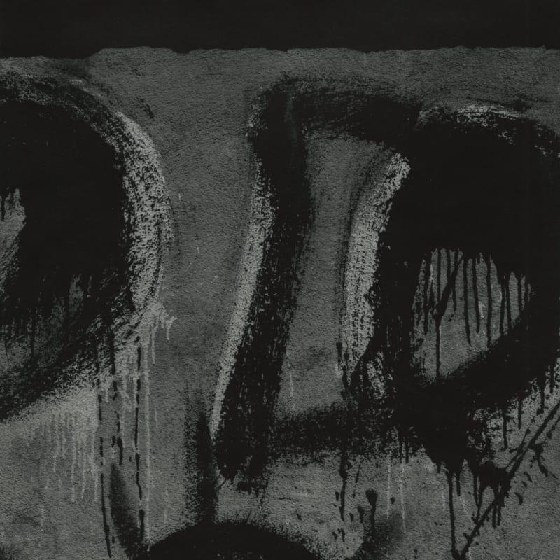 Aaron Siskind Jalapa 66 (Homage to F.K) Tirage gélatino-argentique postérieur 25,1 x 25,2 cm Dim. papier: 28 x 35 cm