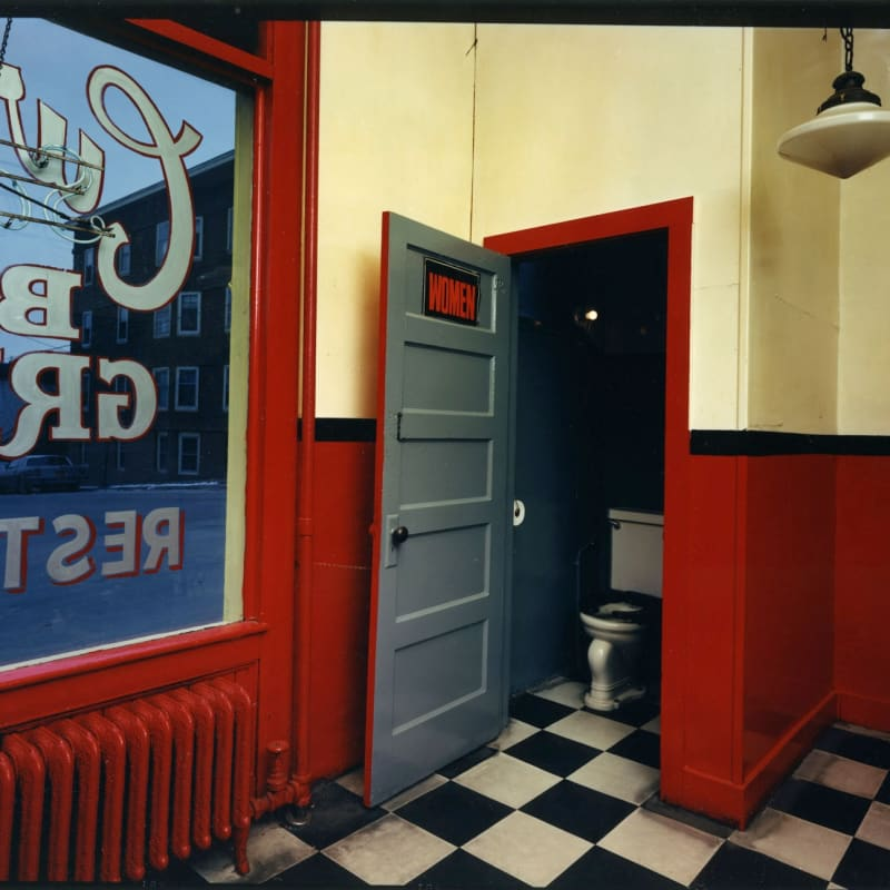 Bruce Wrighton Curley's Bar and Grill, Johnson City, NY Tirage C-print d'époque 20 x 25 cm Dim. papier: 20 x 25 cm