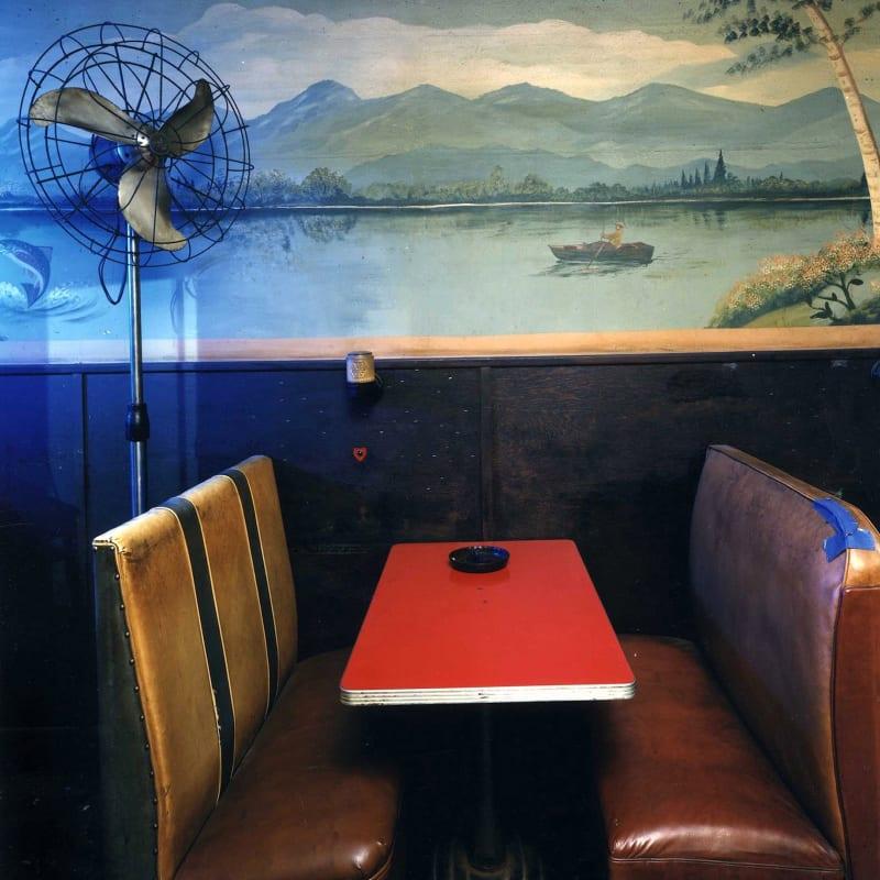 Bruce Wrighton Yonda's Bar, Binghamton, NY Tirage C-Print d'époque 20 x 25 cm Dim. papier: 20 x 25 cm