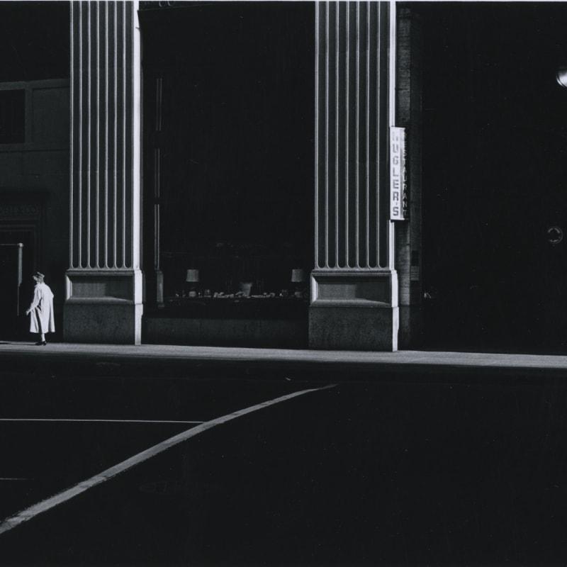 Ray K. Metzker Philadelphia Tirage gélatino argentique moderne réalisé par l'artiste 15,6 x 22,8 cm Dim. papier: 20,3 x 25,4 cm