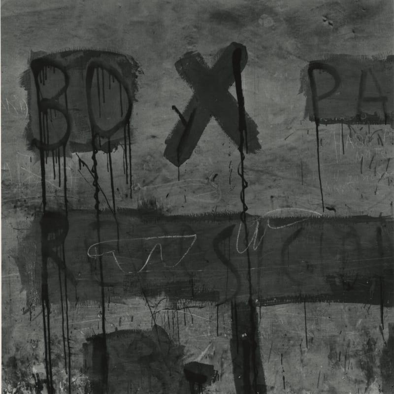 Aaron Siskind Lima 224 Tirage gélatino-argentique postérieur 25,6 x 26,4 cm Dim. papier: 28 x 35 cm