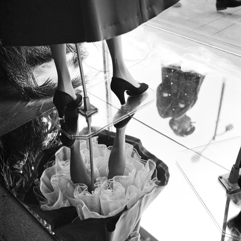 Vivian Maier Chicago, IL Tirage gélatino-argentique, posthume 30 x 30 cm Dim. papier: 40 x 50 cm