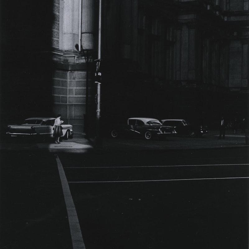 Ray K. Metzker Philadelphia Tirage gélatino argentique d'époque, réalisé par l'artiste 15,1 x 22,3 cm Dim. papier: 20,3 x 25,4 cm