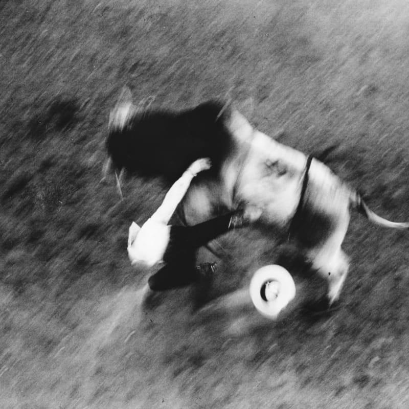 Ernst Haas Rodeo, Californie Tirage gélatino-argentique d'époque Dim. papier: 20 x 25 cm