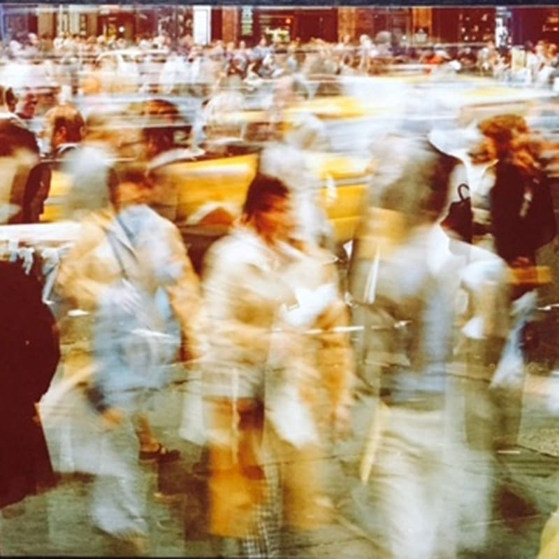 Ernst Haas Crosswalk, NYC Tirage Type C d'époque Dim. papier: 48 x 35 cm
