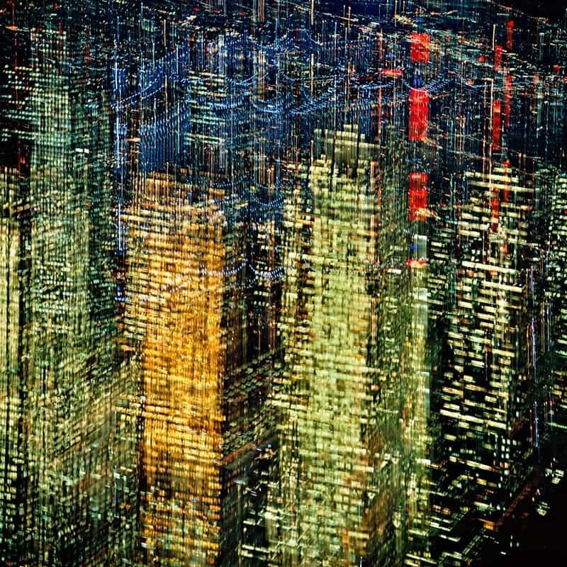 Ernst Haas Lights of New York City Tirage chromogène posthume 57,4 x 86,2 cm Dim. papier: 76 x 101 cm