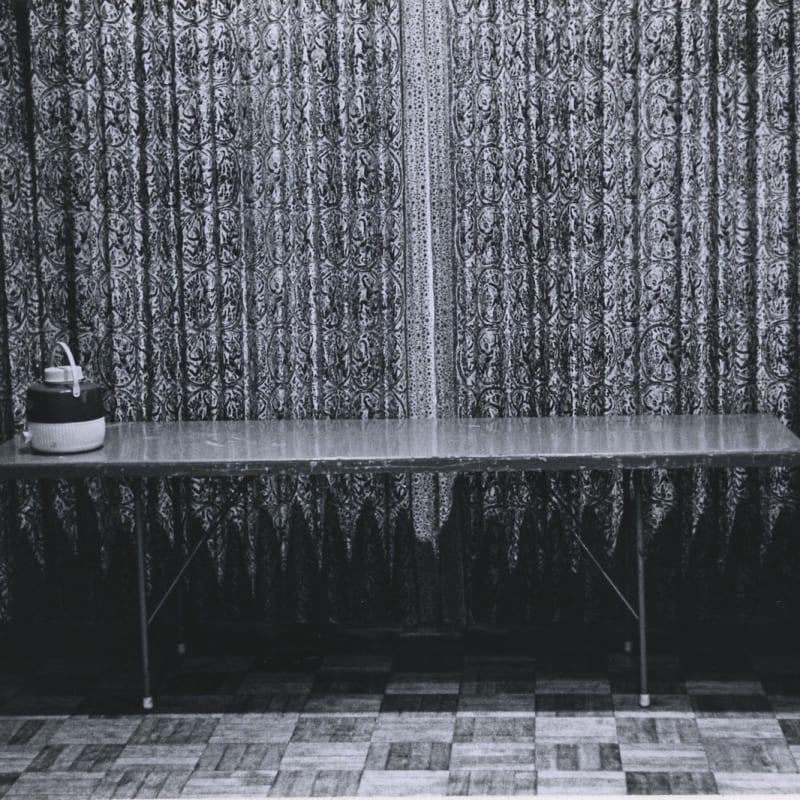 Tom Arndt Water container Tirage gélatino-argentique d'époque, réalisé par l'artiste 11 x 16,5 cm Dim. papier: 20,4 x 25,2 cm