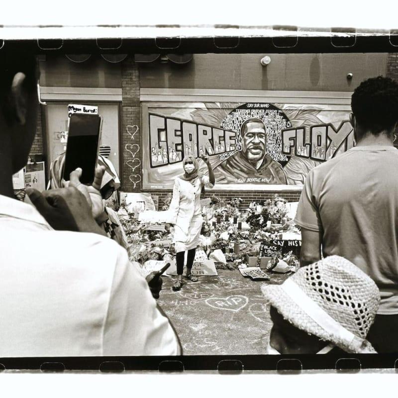 Tom Arndt 38th & Chicago Tirage gélatino-argentique moderne, réalisé par l'artiste